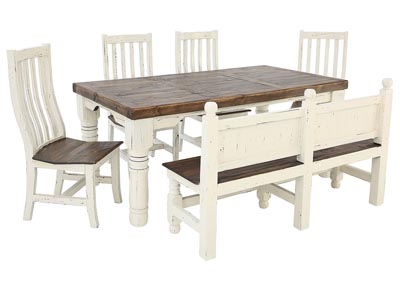 SANTA RITA 6 PIECE DINING SET