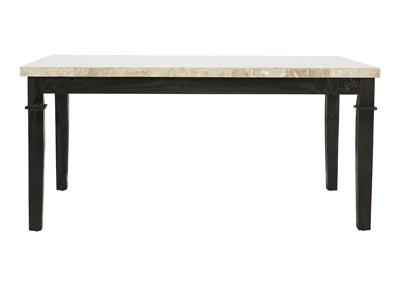 GREYSTONE MARBLE TOP DINING TABLE