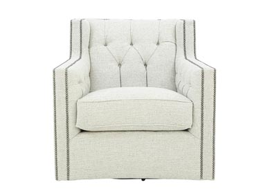 CANDACE SAND DOLLAR SWIVEL CHAIR