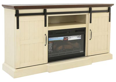 HOGAN TV STAND WITH ELECTRIC FIREPLACE,TWIN-STAR INTERNATIONAL