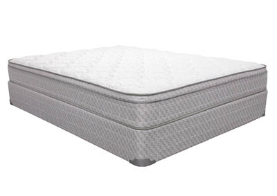 IRIS EURO-TOP KING MATTRESS SET
