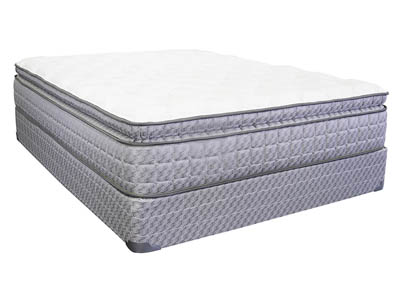LILLY PILLOWTOP KING MATTRESS SET