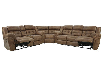 HAYGEN ALMOND 3 PIECE SECTIONAL