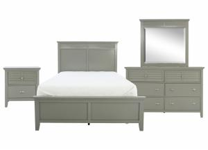 SPENCER GREY FULL BEDROOM SET