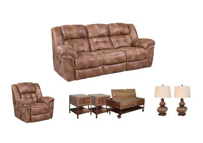 HAYGEN ALMOND LIVING ROOM SET