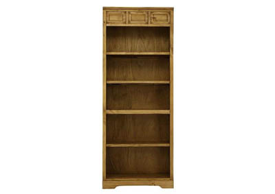 LAWMAN MEDIUM WAX BOOKCASE