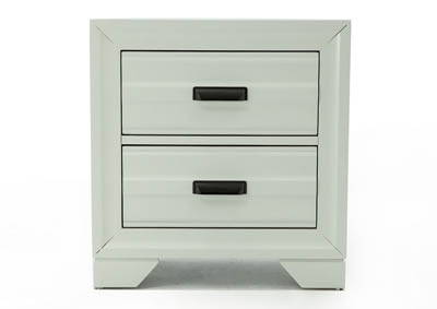 ASLINN WHITE NIGHTSTAND