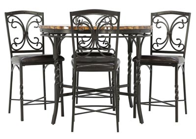 TUSCAN 5 PIECE PUB SET