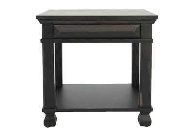 PASSAGES END TABLE