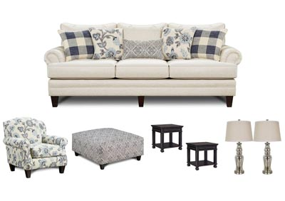 Image for CATALINA LINEN LIVING ROOM SET