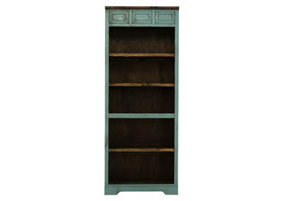 LAWMAN TURQUOISE BOOKCASE