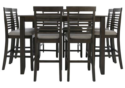 JGW COUNTER HEIGHT 9 PIECE DINING GROUP