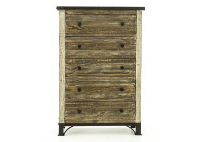 PRAGA 5 DRAWER CHEST
