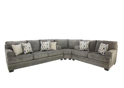 DORSTEN SLATE 3 PIECE SECTIONAL