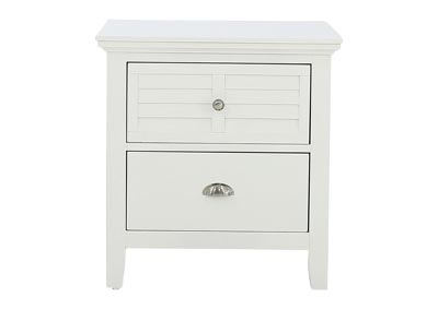SPENCER WHITE NIGHTSTAND