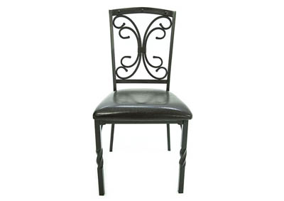TUSCAN ESPRESSO SIDE CHAIR