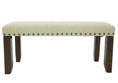 JAX UPHOLSTERED BENCH