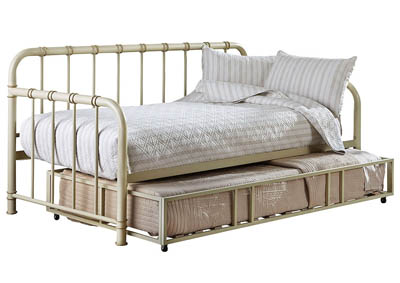 TRISTEN WHITE DAYBED WITH TRUNDLE