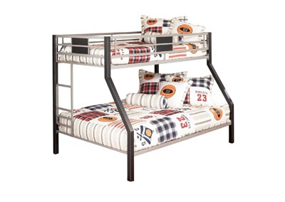 Image for DINSMORE TWIN/FULL BUNK BED W/LADDER