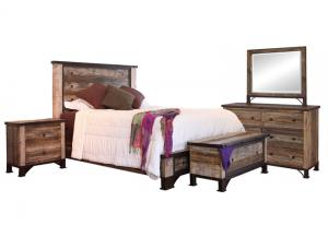 PRAGA QUEEN BEDROOM GROUP