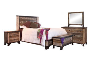 PRAGA KING BEDROOM GROUP