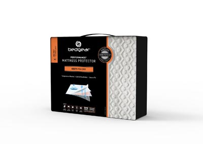 TWIN DRI-TEC MOISTURE WICKING PERFORMANCE MATTRESS PROTECTOR
