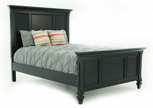 BELMA BLACK QUEEN BED
