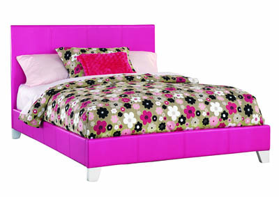 SAVANNAH PINK FULL BED