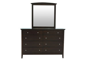 WALKER DRESSER AND MIRROR