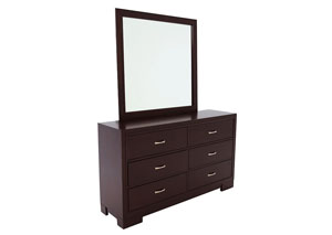 WEBSTER DRESSER AND MIRROR