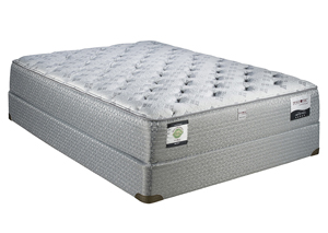 ALLANTE PLUSH FULL MATTRESS SET