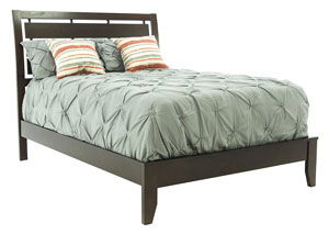 EVAN CHERRY KING BED