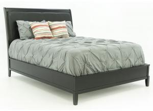 OLIVER BLACK CHERRY QUEEN BED