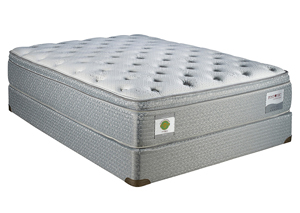 SILVER LIMITED EUROTOP PLUSH FULL MATTRESS SET