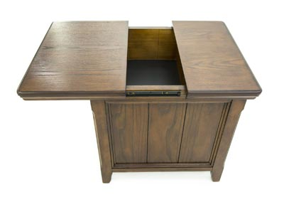 WOODBORO MEDIA END TABLE,ASHLEY FURNITURE INC.