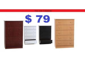 Image for 5 drawer chest c5