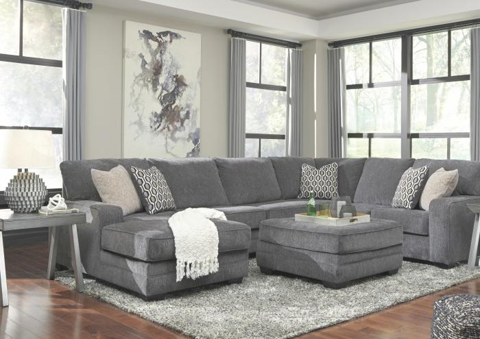 Taylor LAF Corner Chaise Sectional,Jaron's Showcase