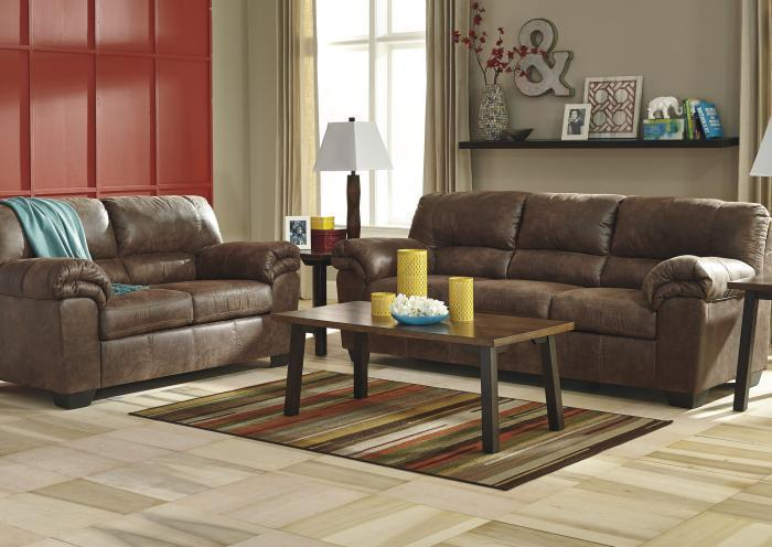 Balden Coffee Sofa and Loveseat,Jaron's Showcase