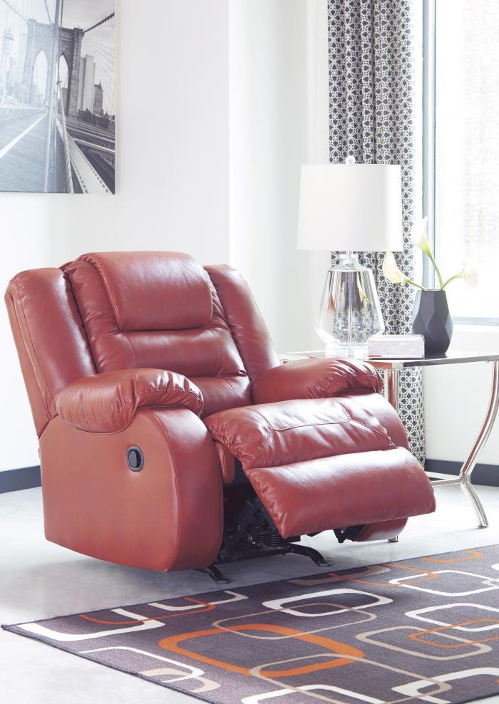Alliston Salsa Rocker Recliner,Jaron's Showcase