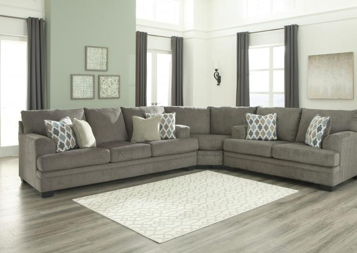 Dorsten 3 Piece Sectional,Jaron's Showcase