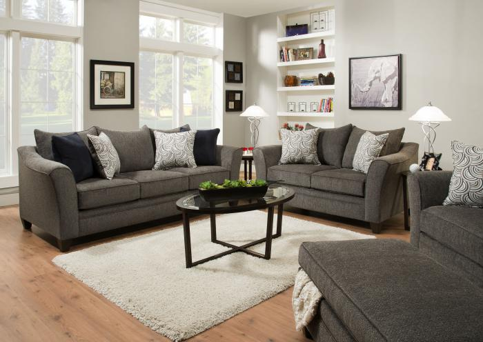 Alby Loveseat,Jaron's Showcase