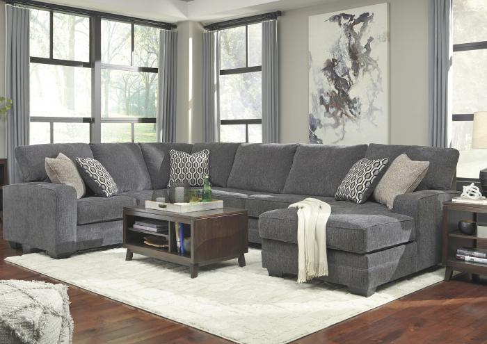 Taylor RAF Corner Chaise Sectional,Jaron's Showcase