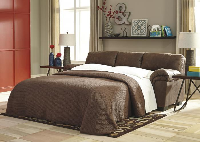 Balden Coffee Full Sleeper Sofa,Jaron's Showcase