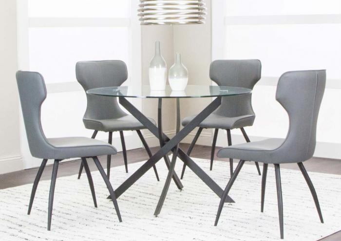 Jarons Eclipse Table And 4 Chairs