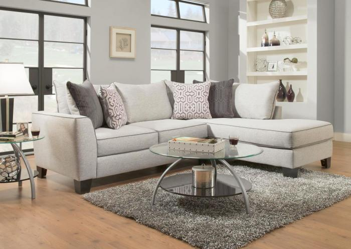 Mica RAF Chaise and LAF Chaise Sectional,Jaron's Showcase