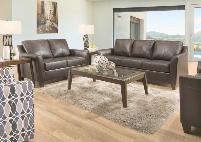 Jarons Austin Leather Sofa