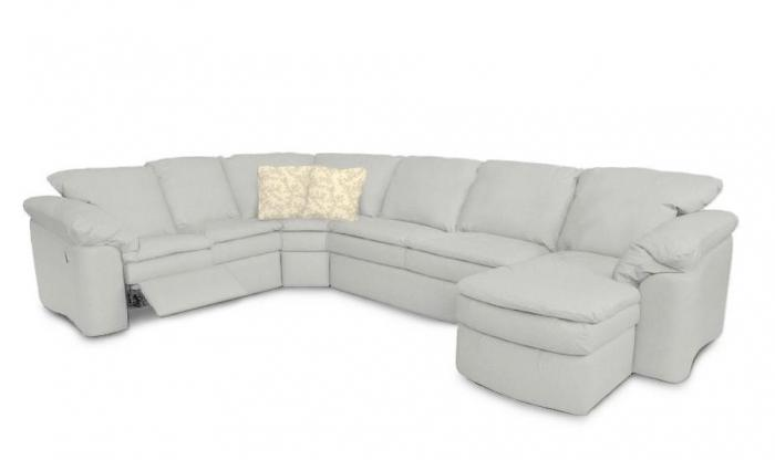 Torino 5 Piece Sectional-Able to Customize,Jaron's Showcase