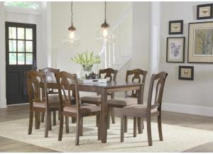 Grandville Table and 6 Chairs-All in One-1 FLOORSAMPLE LEFT LUMBERTON