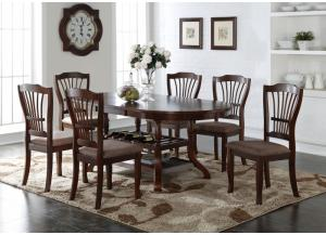 Bixby Table with 6 Chairs