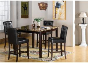 Landon Counter Height Table and 4 Stools
